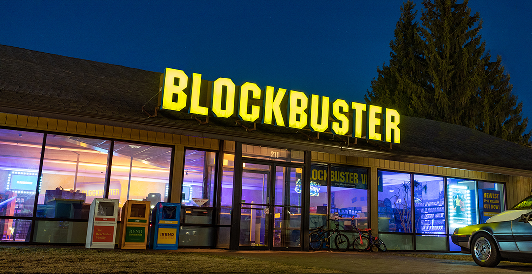 The world's last Blockbuster has been turned into an Airbnb