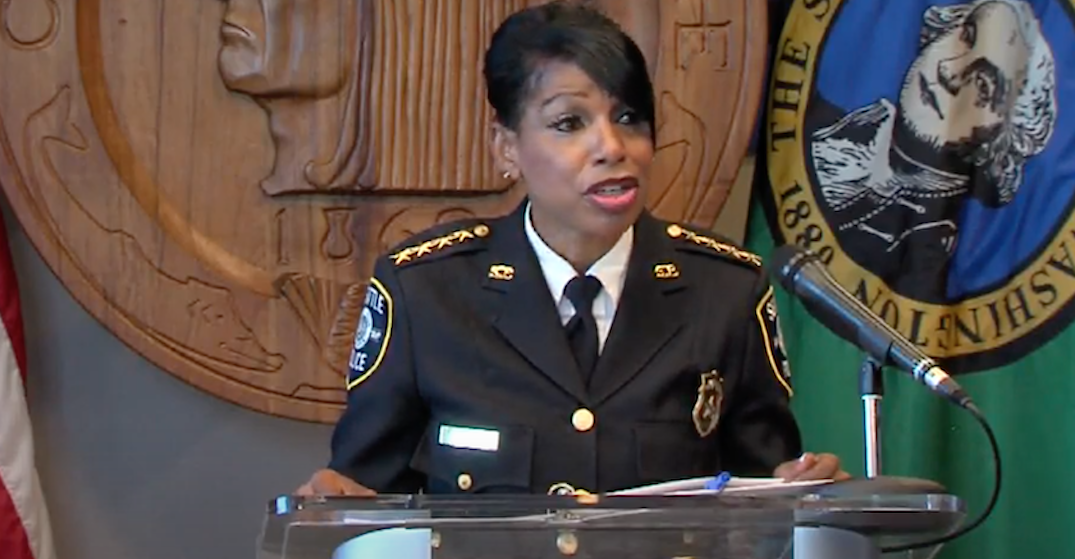 Seattle Police Chief Carmen Best officially announces retirement