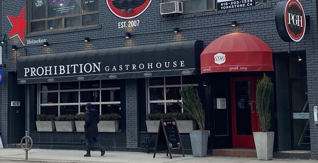 Toronto's Prohibition Gastropub is making a comeback under a new name