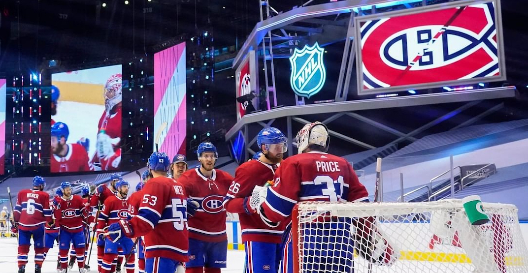You can watch the Habs game for FREE on the big screen tonight