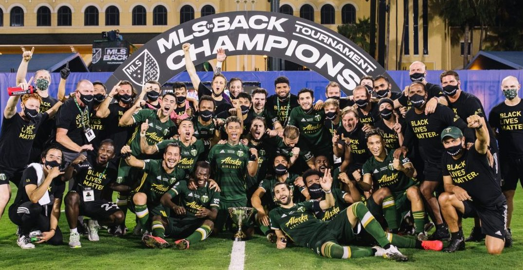 Timbers fans react as Portland wins MLS is Back Championship