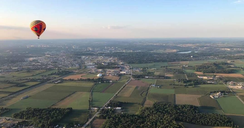 Here's where you can take a hot air ballon ride in Ontario