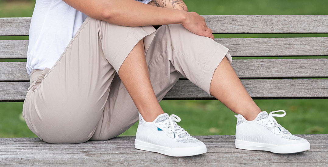Vessi releases its first-ever waterproof court sneaker