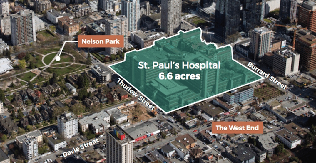 St. Paul's Hospital site sold to Concord Pacific for $1 billion