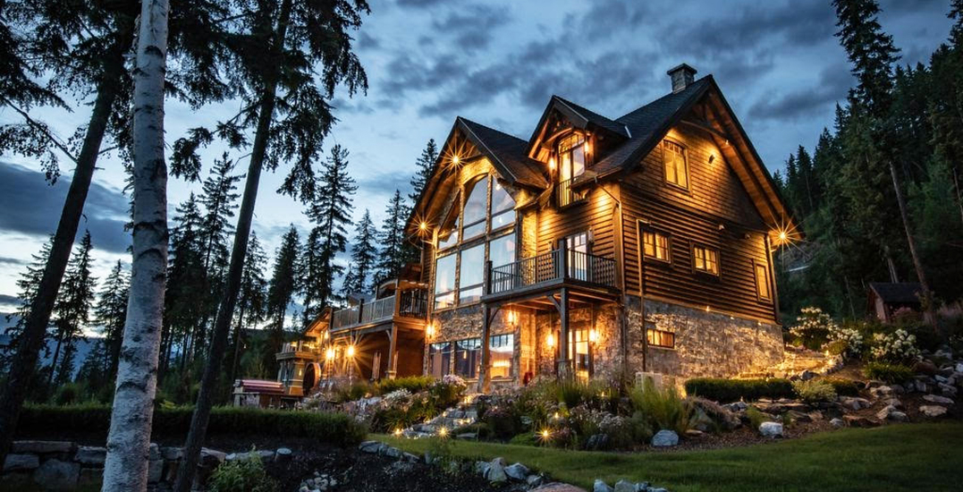 A look inside: Stunning private ski lodge in BC available for $6M (PHOTOS)