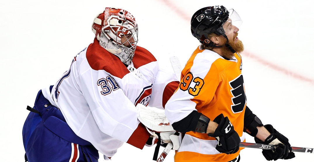 Canadiens fall short in Game 1 against Flyers