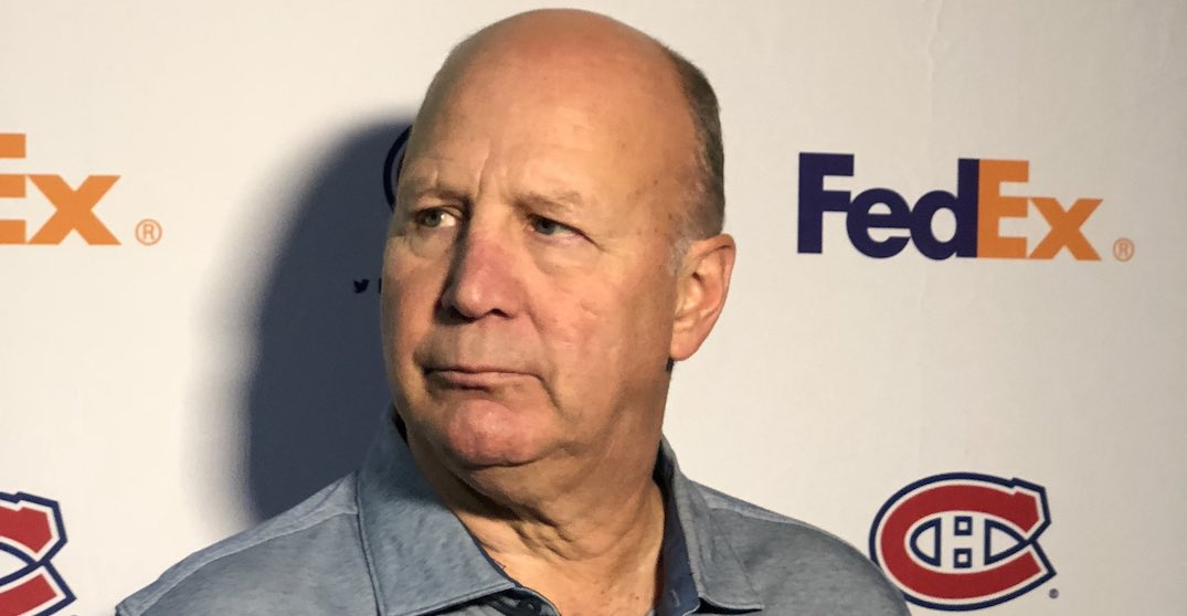 Canadiens head coach Claude Julien admitted to hospital
