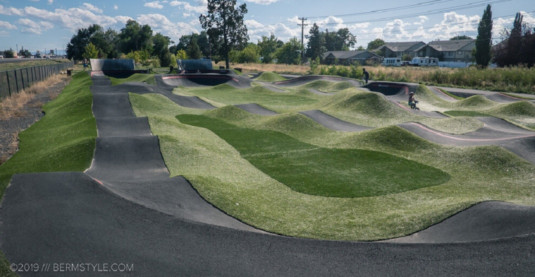 New bicycle pump track opening in South Glenmore Park this weekend