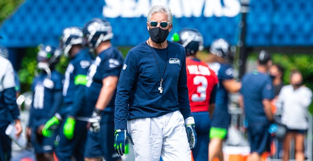 """This is a protest that doesn't have an end"": Seahawks coach Pete Carroll"