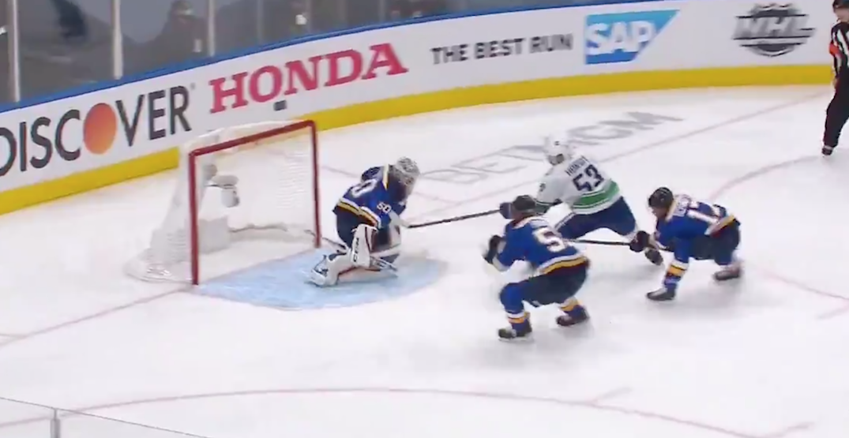 Bo Horvat scores spectacular shorthanded goal for Canucks (VIDEO)