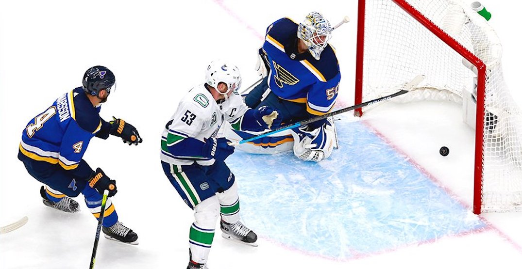 Horvat wins game for Canucks in playoff overtime thriller