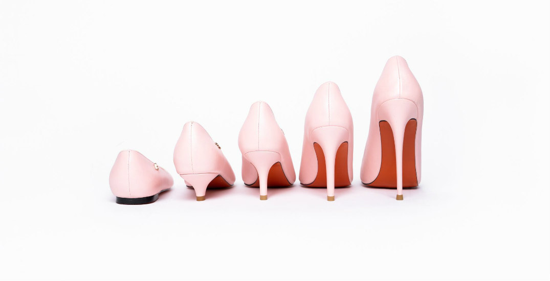 Founder of Canadian label redefines shoe shopping by heel height