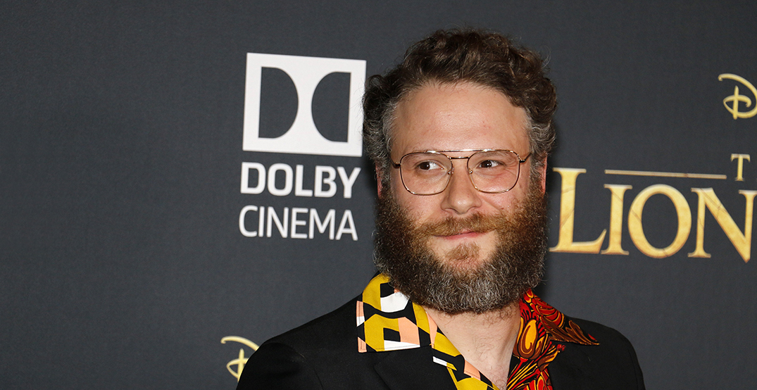 Seth Rogen encourages everyone in BC to smoke weed alone instead of partying