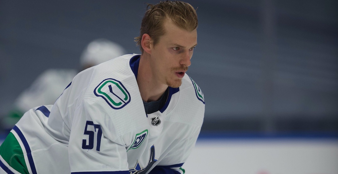 Canucks defenceman Myers out for Game 3 with shoulder injury: report