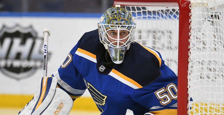 Blues start without Binnington and Tarasenko vs Canucks