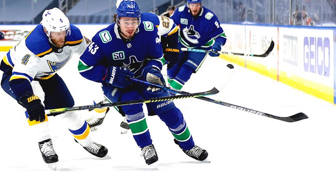 Canucks can't repeat overtime magic in Game 3 loss to Blues