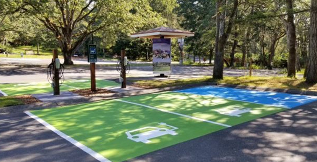 Tesla donates electric vehicle chargers to Canadian parks