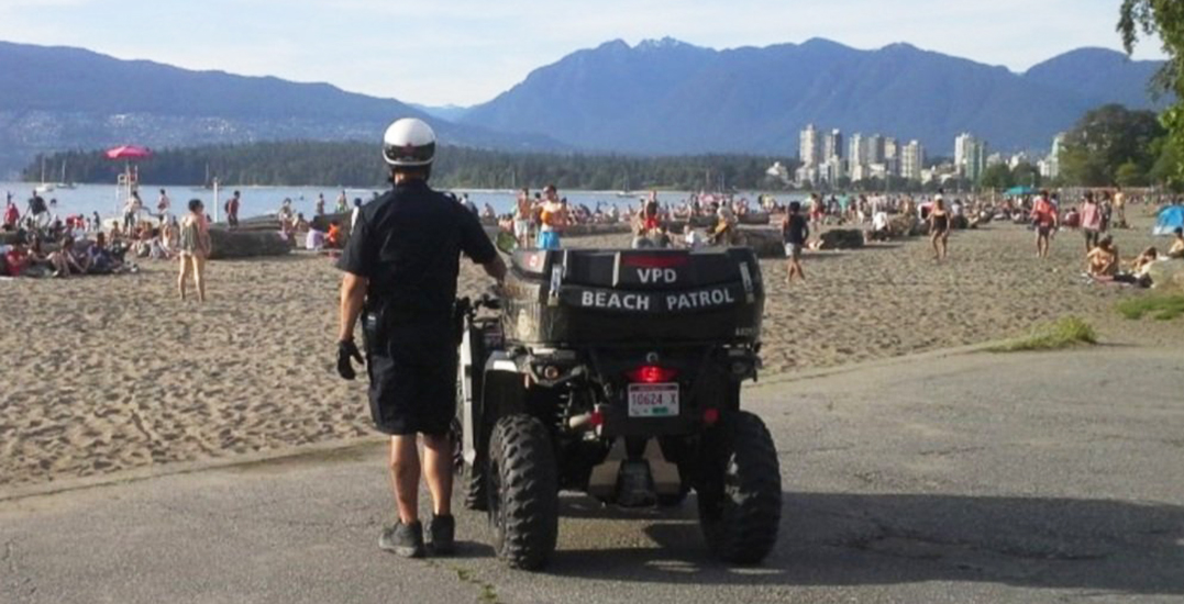 Intoxicated woman kicks stroller with baby inside at English Bay: VPD