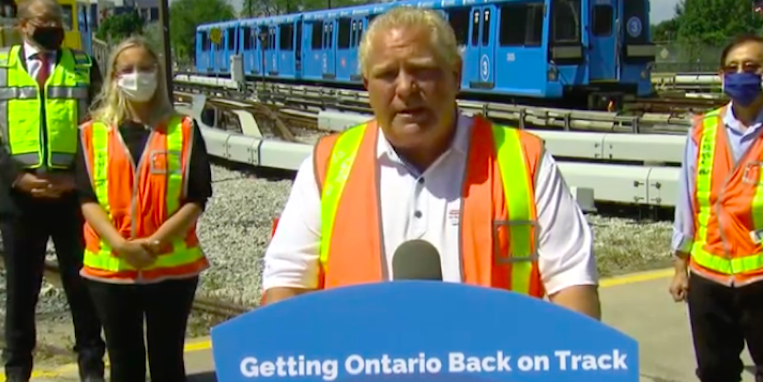 Ontario advances plans for the three-stop Scarborough Subway Extension