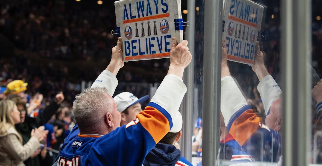 Islanders fans raise nearly $5K to fly plane with banner over Toronto