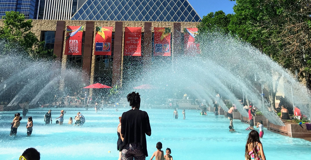 Edmonton's heat warning expected to end Tuesday evening