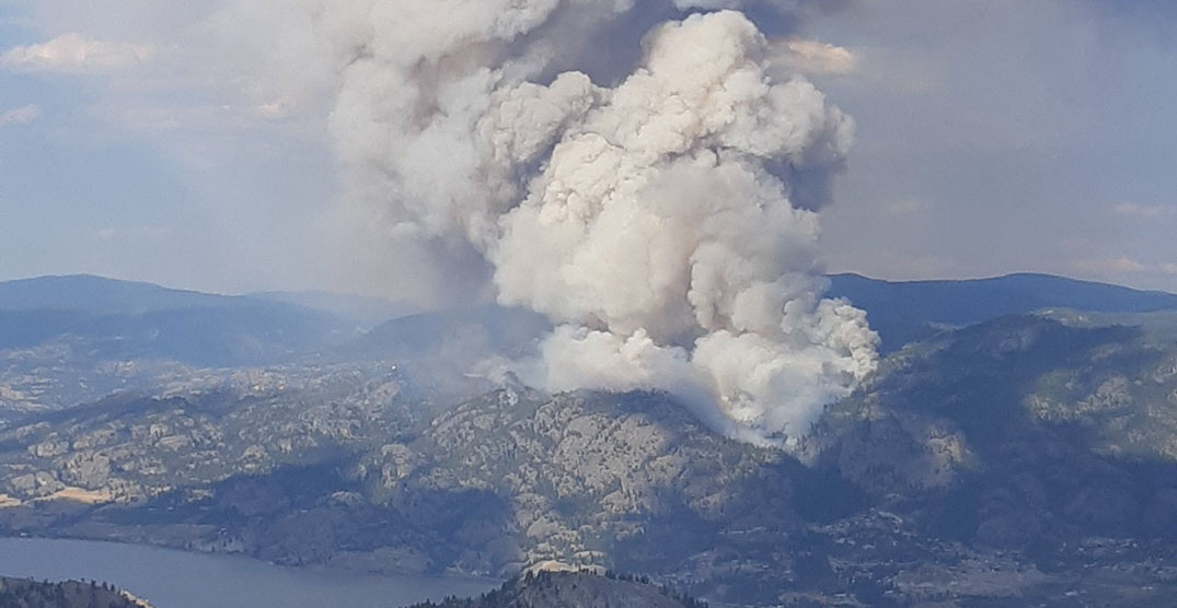 Growing Christie Mountain wildfire prompts evacuation order