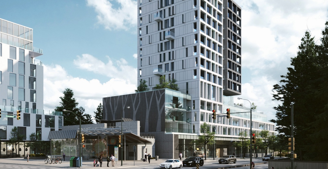 14-storey condo tower proposed for SkyTrain's Langara-49th Avenue Station