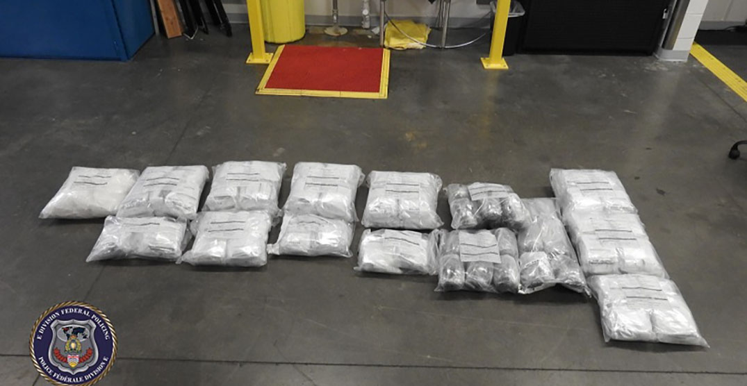 Surrey man charged for allegedly importing 90kg of methamphetamine