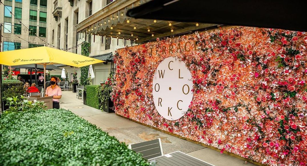 The dreamiest floral patio in Toronto has reopened (PHOTOS)