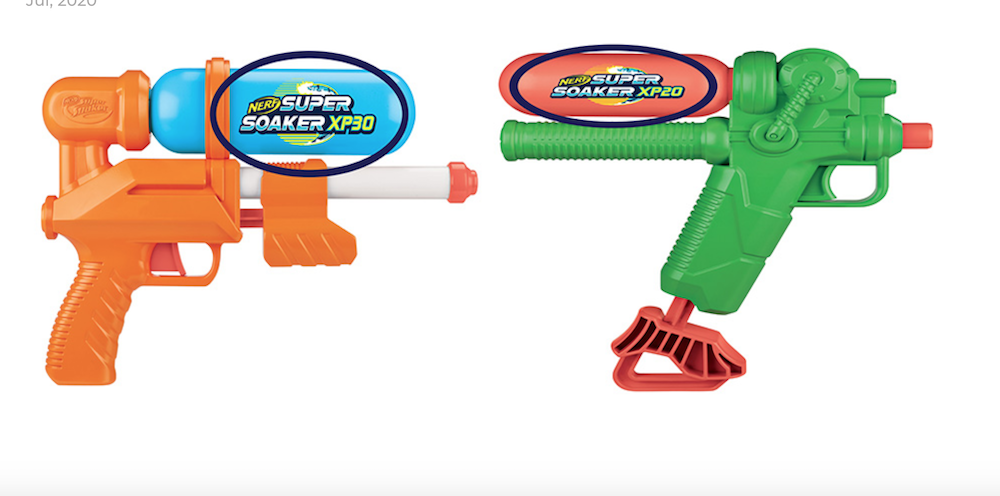 Hasbro recalls two Super Soakers over lead concerns