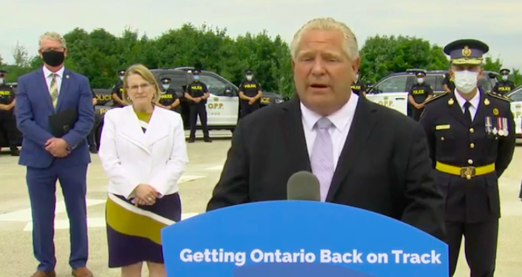 Ontario invests $25M dollars to hire an additional 200 police officers