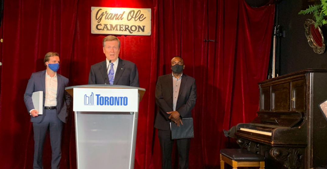Tory announces $1.7M in property tax relief for dozens of music venues