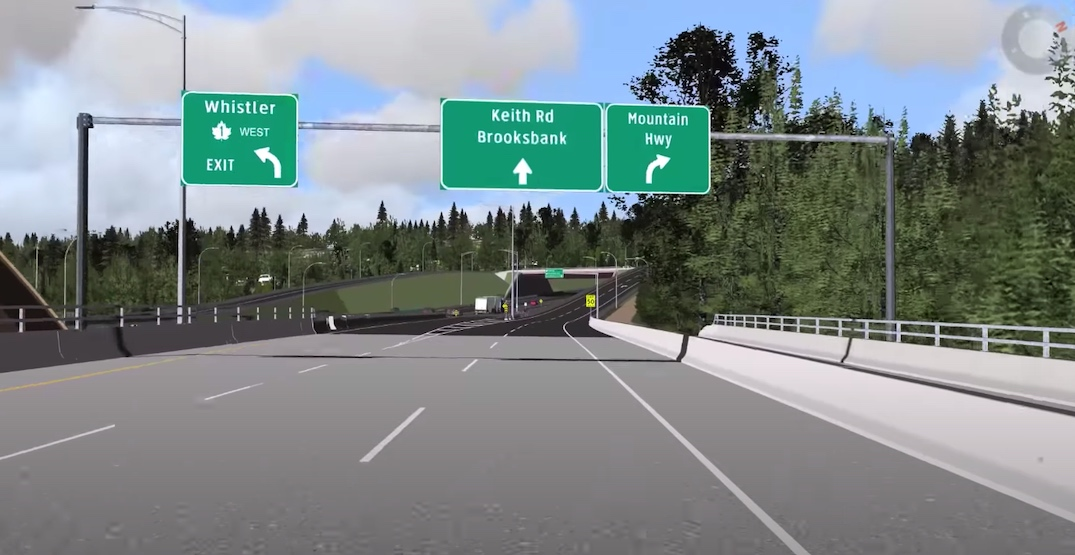 Mountain Highway Interchange on the North Shore reaches completion