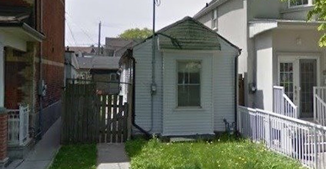 A tiny home in Toronto just sold for over $800,000 above asking price