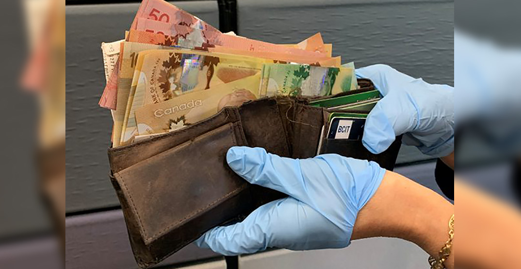 Wallet found with over $2,000 cash returned to owner in Metro Vancouver
