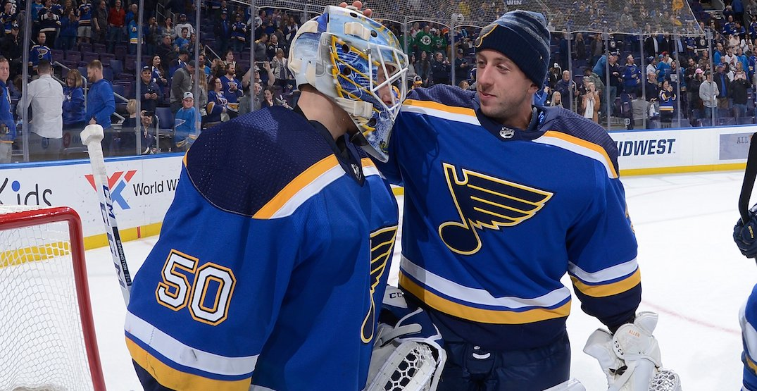 Blues coach undecided which goalie to play in Game 6 vs Canucks tonight
