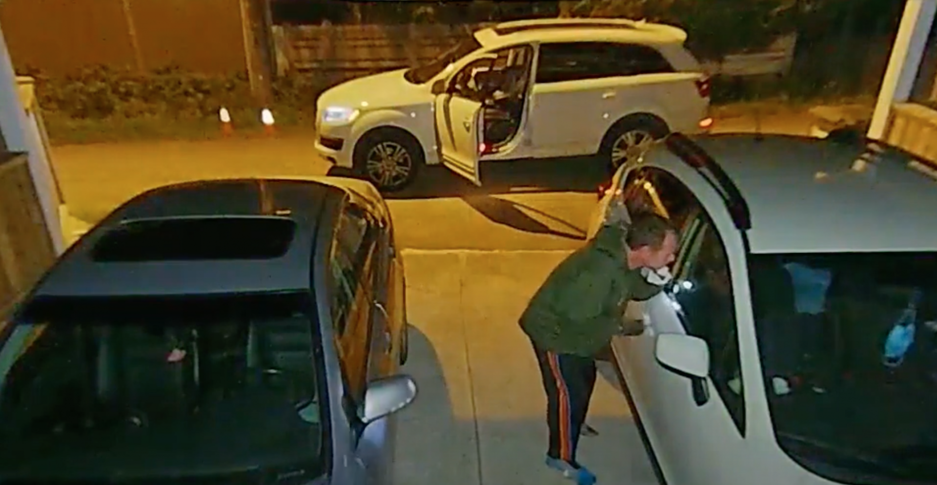 Thirty seconds is all Burnaby thief needs to steal from parked car (VIDEO)