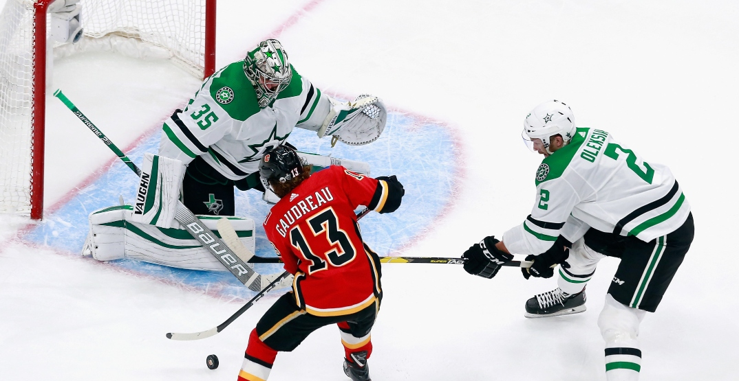 Flames season ends after blowing 3-goal lead to Stars