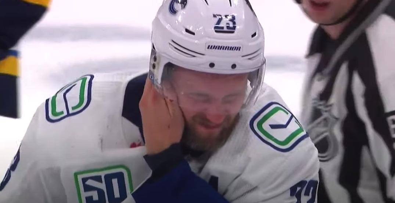 "Edler ""good to go"" for Canucks after skate cut: report"