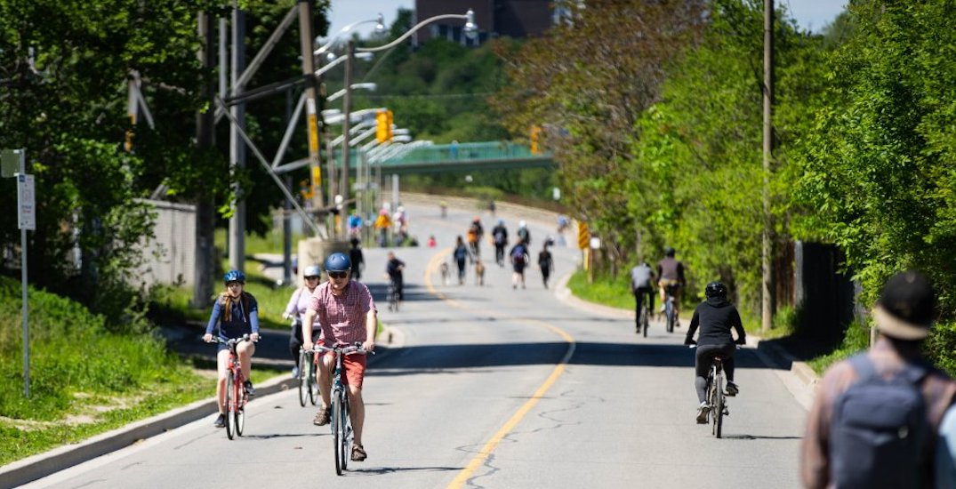 Here are Toronto's ActiveTO road closures for this weekend