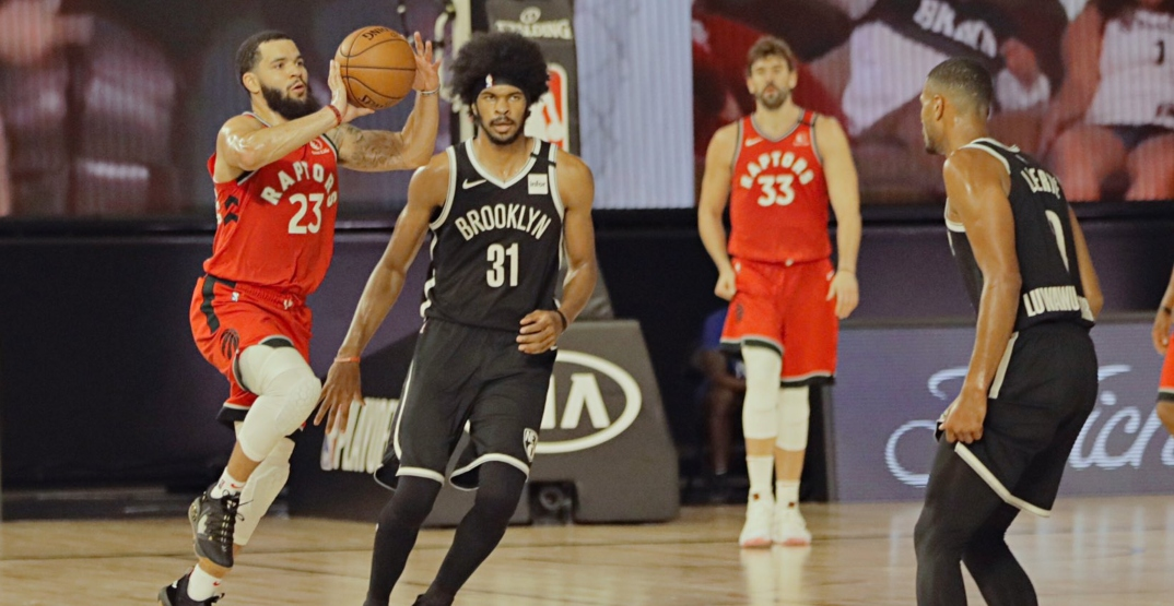 Raptors take first-ever 3-0 series lead after dominant win over Nets