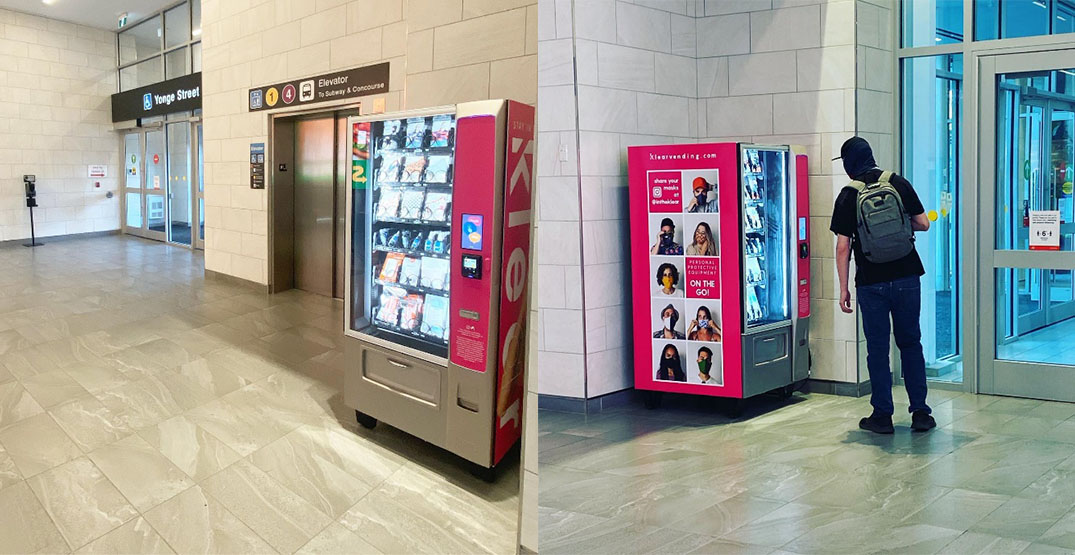 PPE vending machines coming to malls and transit stations across Canada