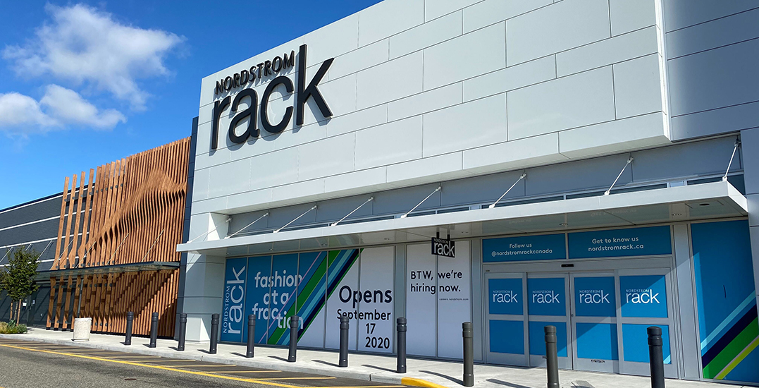 Nordstrom Rack unveils opening date of its first Metro Vancouver store