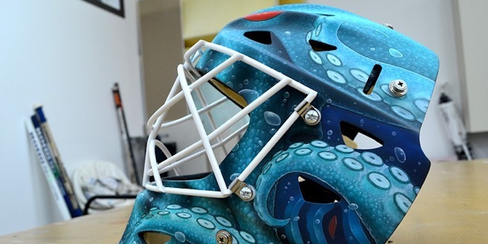 Check out this cool Seattle Kraken goalie mask design (PHOTOS)