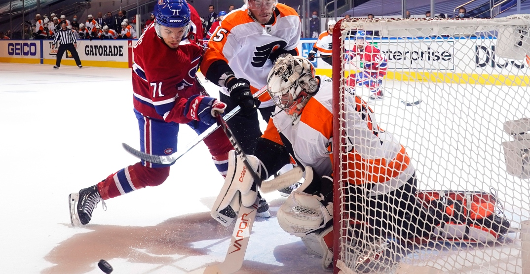 Canadiens playoff run comes to an end with loss to Flyers