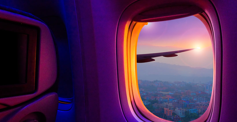 Cracked window frame on Air Canada flight makes for hair-raising TikTok