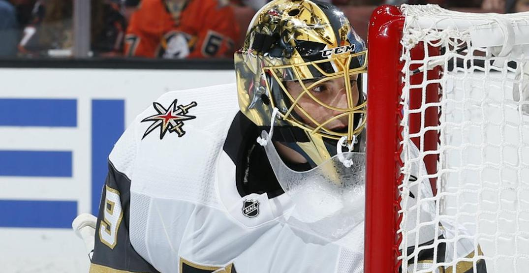 Agent suggests Fleury was backstabbed on eve of Canucks-Vegas series