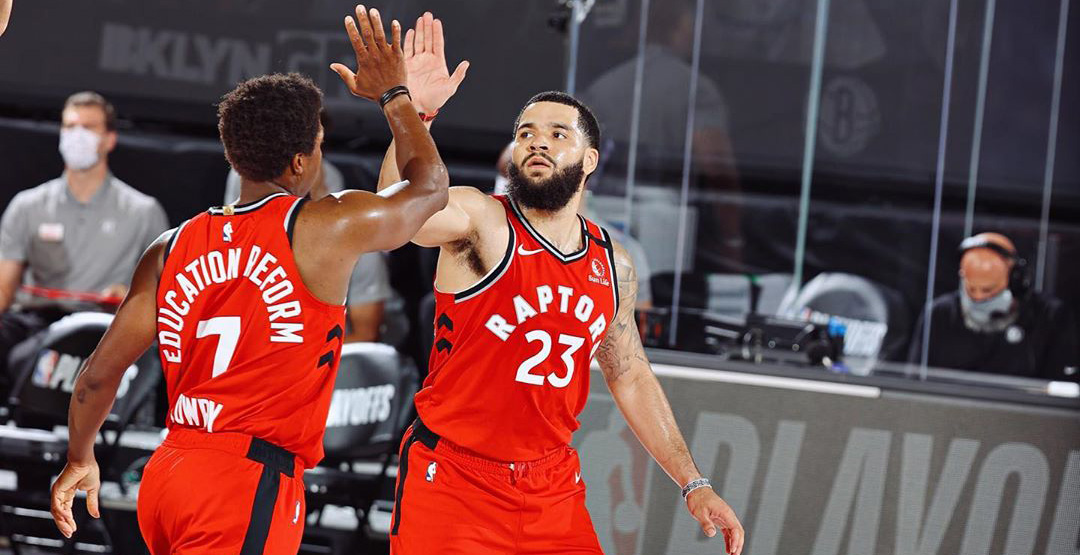 There's a drive-in Raptors viewing party in Toronto today