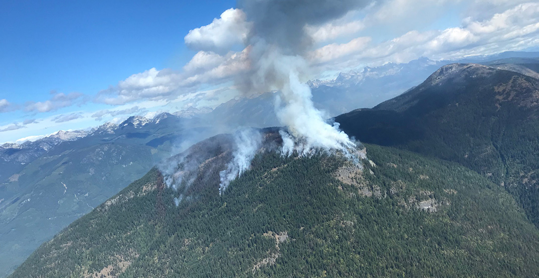 Over 300 homes under evacuation alert in BC as winds increase fire activity
