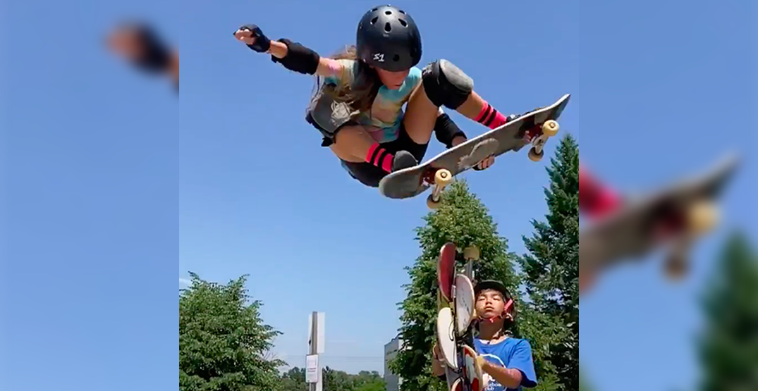 10-year-old Canadian skateboarder sets her sights on the Olympics